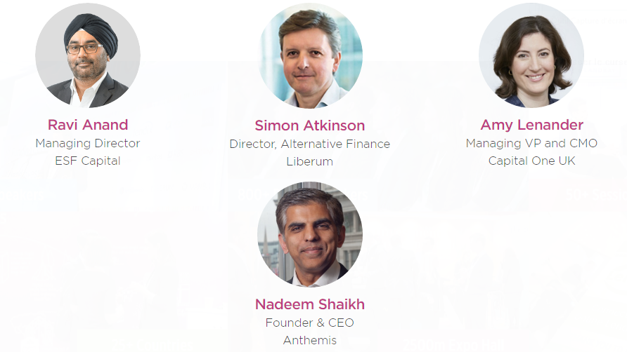 Headline judges for the pitchit session in Lendit Europe